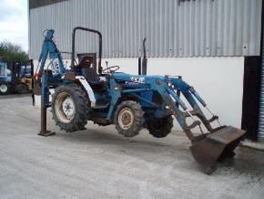 Mining equipment tractor: Backhoe for sale uk